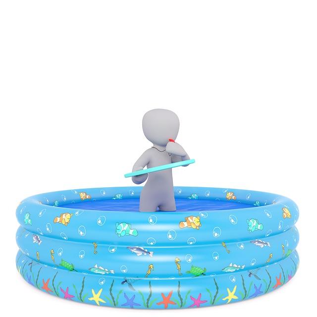 nafukovací bazének