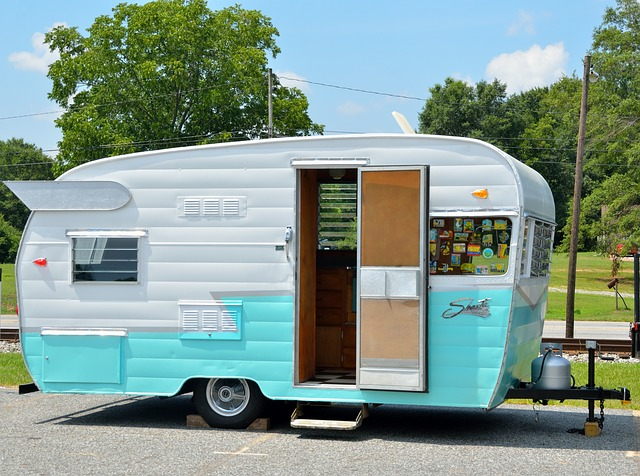rekreace v karavanu