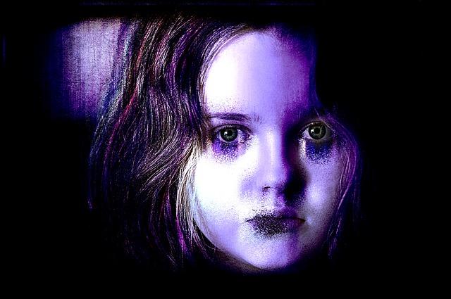 strašidelná holka