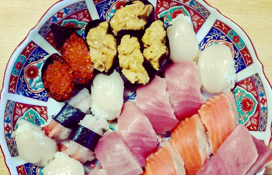 zdravé sushi